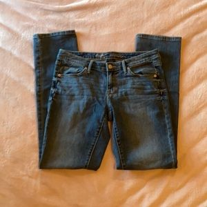 Mossimo mid-rise straight jeans sz6R